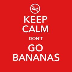 british motivational poster replica with banana joke