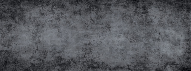 Monohrome dark grunge gray abstract background. Wall mural