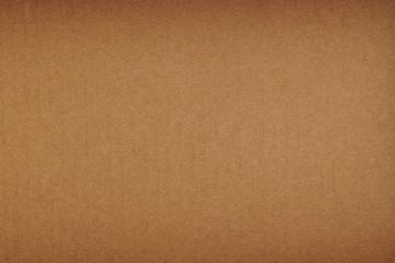 Brown clean cardboard paper background