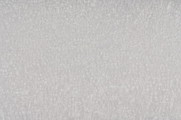 White plastic foam background