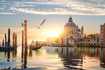 Photo sur Aluminium Venise Gand Canal in Venice