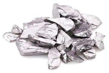 99.95% fine tantalum isolated on white background
