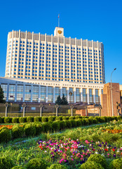 Fototapete - House of Government of Russian Federation, Moscow