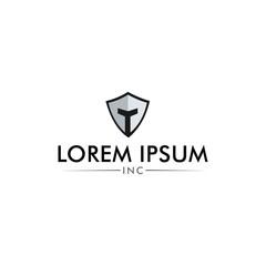 security  tech spartan logo design