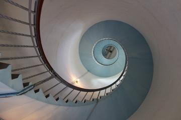 Aluminium Prints Spiral Wendeltreppe