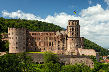 Ruins of Castle Heidelberg