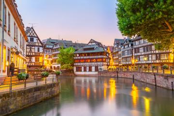 Straßburg am Abend