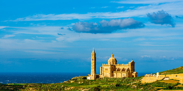 Ta' Pinu basilica Gharb, Gozo, Malta
