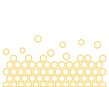 Honeycomb background texture illustration concept design