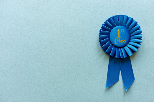 Champion or Winners 1st Place blue rosette