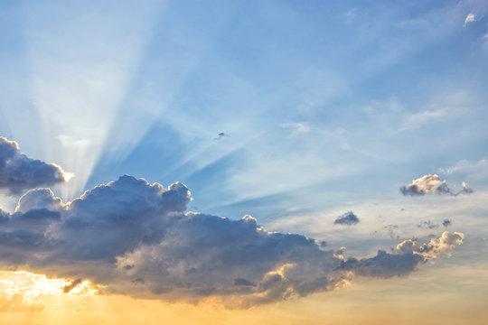 Sun beam line light