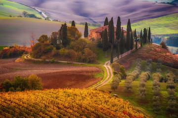 Sunrise in Italy Fototapete