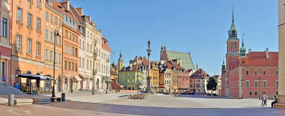 Castle Square - Warsaw, Poland
