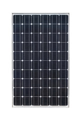 Obraz Solar panel isolated on white background - fototapety do salonu