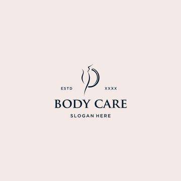 Body care logo vector illustration