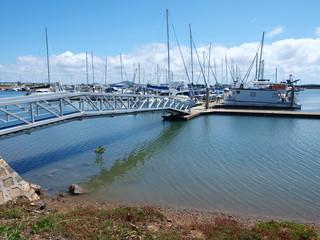 Gladstone Marina. Nautical scene.