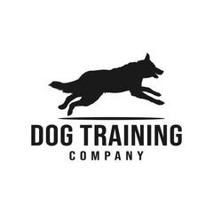 Dog training company logo design