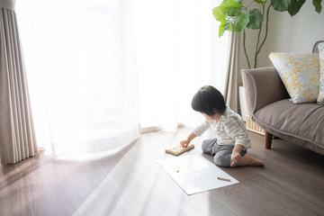 子供 お絵描き