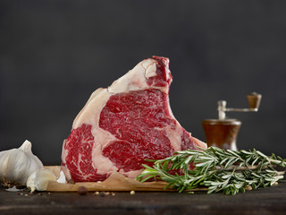 fresh raw beef steak meat