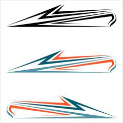 Vehicle Graphics, Stripe : Vinyl Ready Design