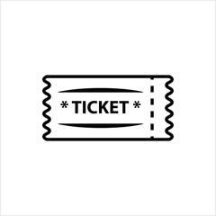 Ticket Icon, Ticket