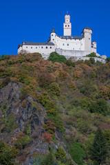 Die Marksburg bei Braubach