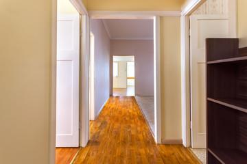 Empty hallway in a big house