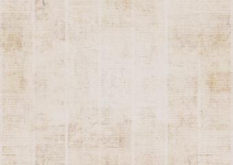 Vintage grunge newspaper texture background