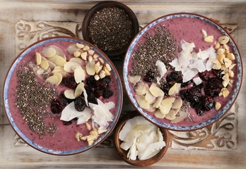Smoothie bowl.