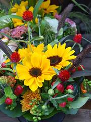 Herbst, Blumen, Blumenstrauß