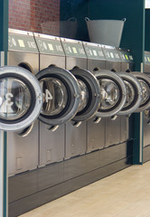 Public Laundrette in Berlin Germany