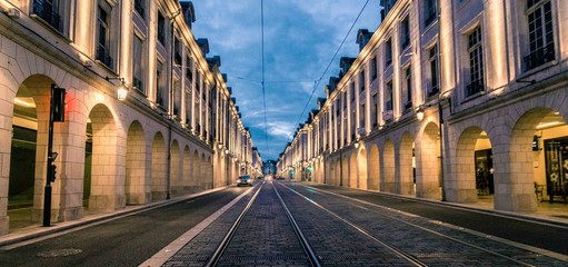 In de dag Smal steegje Rue Royale orléans