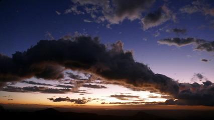 Coucher de soleil sur le Rincon de la Vieja