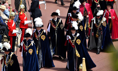 Order of the Garter Service at Windsor Castle