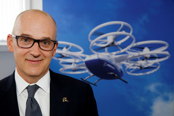 Greg Smith, Boeing CFO, is seen during the 53rd International Paris Air Show at Le Bourget Airport near Paris
