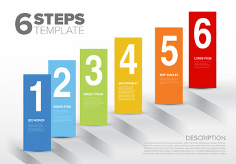 6 Step Informative Layout with Stairs