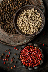 Variety of spice - Pepper