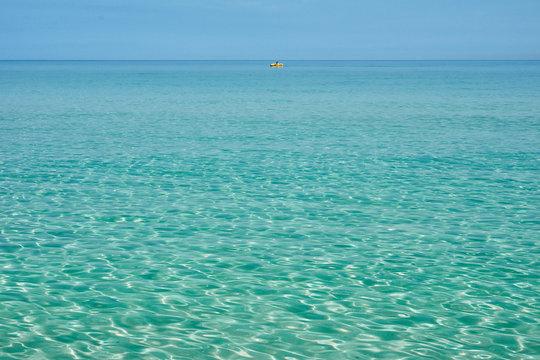 Varadero blue ocen water