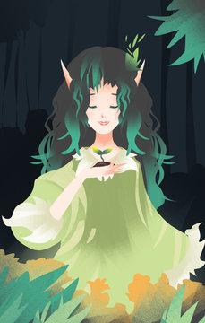 The fairy illustrations