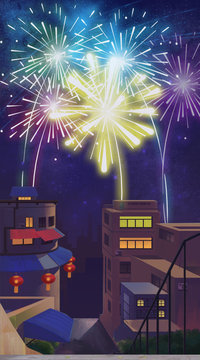 Illustrations in the New Year