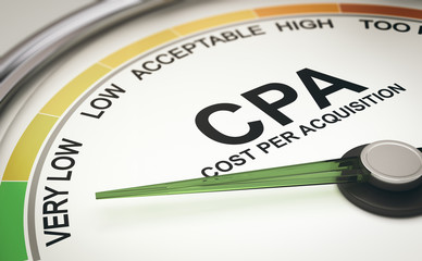 Marketing Metrics. CPA Cost per Acquisition Measurement, Acquiring New Customers