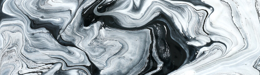 photography of abstract marbleized effect background. black and white creative colors. Beautiful...
