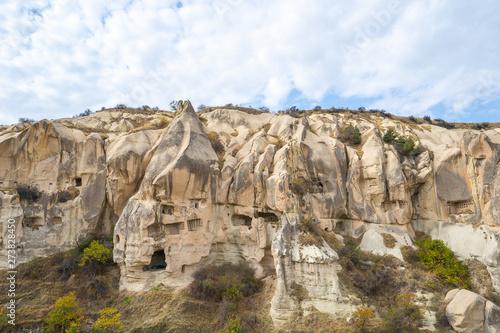 Wall mural Landscape of Cappadocia in Goreme, Turkey