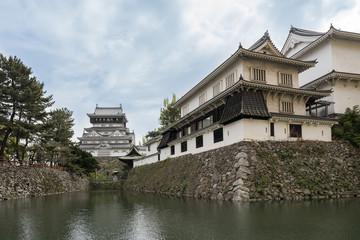 Wall Mural - Kokura Castle landmark in Kitakyushu, Japan