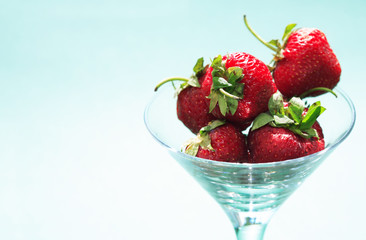 Bowl With Strawberry