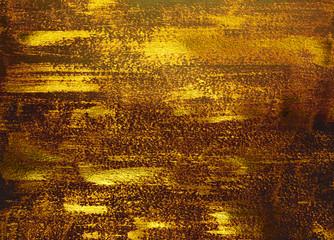 Shiny golden texture. Golden background.