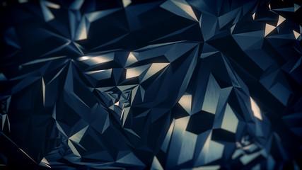 Dark Polygons Background