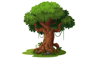 Beautiful tree concept art 1