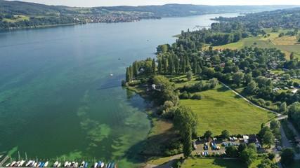 Drohne über Bodensee