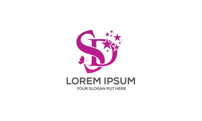 SD/DS Letter logo
